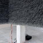 """Behind textures"" (detail) - Sound installation. Exhibition at KH7artspace, Aarhus // May-12-14 2017. [Photo: Morten Barker]"